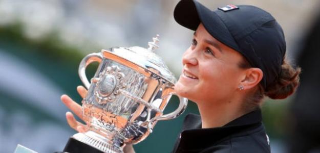 La tenista 'aussie' reflejó en rueda de prensa sus emociones tras ganar el título. Foto: Getty