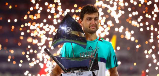 Aslan Karatsev, campeón en Dubái. Fuente: Getty