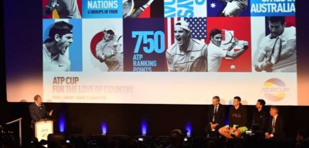 Las innovaciones de la ATP Cup. Foto: Getty