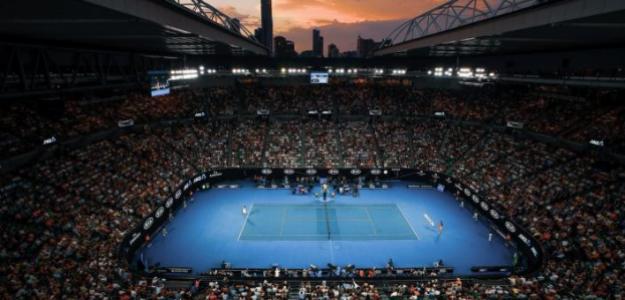 La Rod Laver Arena en jornada de noche. Fuente: Getty