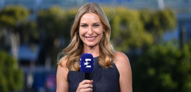 """Barbara Schett: """"Djokovic sentirá la presión, si no lo hiciera, no sería humano"""". Foto: Eurosport"""