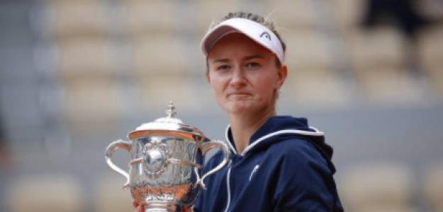 Krejcikova intentará meterse en un listado histórico. Foto: Getty
