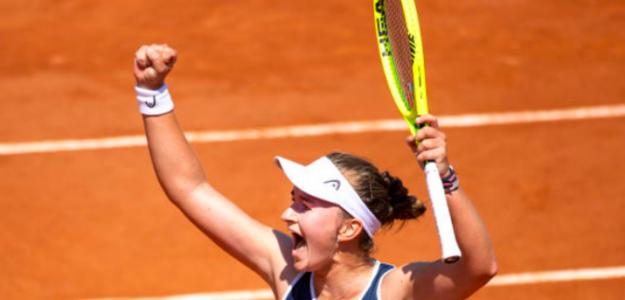 La victoria de Barbora Krejcikova. Fuente: Getty