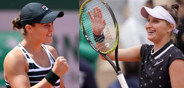Barty o Vondrousova, una será campeona de Roland Garros. Fuente: OnManorama
