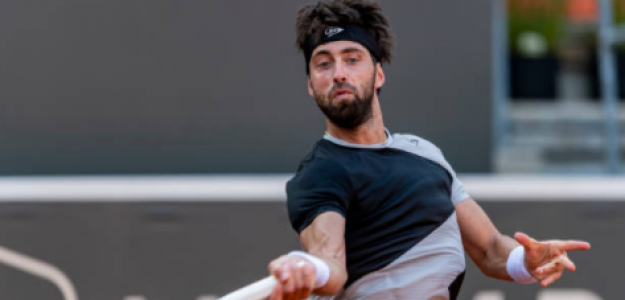 Nikoloz Basilashvili, en Hamburgo. Fuente: Getty