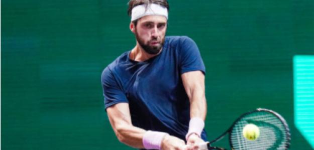 Nikoloz Basilashvili, beneficiado por el nuevo ranking. Fuente: Getty