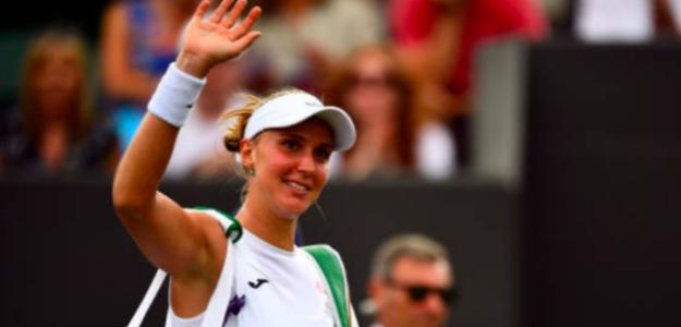 Beatriz Haddad Maia en su última participación en Wimbledon. Fuente: Getty