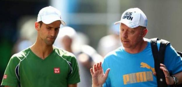 Becker y Djokovic, una unión fantástica. Foto: Getty