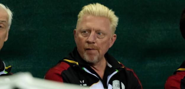 Boris Becker analiza el inminente US Open. Foto: Getty