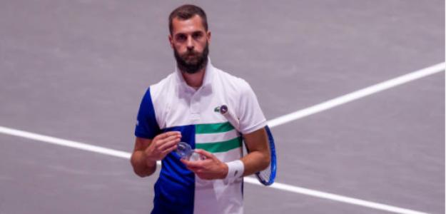 Benoit Paire explica por qué odia el tenis. Foto: gettyimages