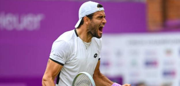 Matteo Berrettini: ¿El gran tapado de Wimbledon 2021?