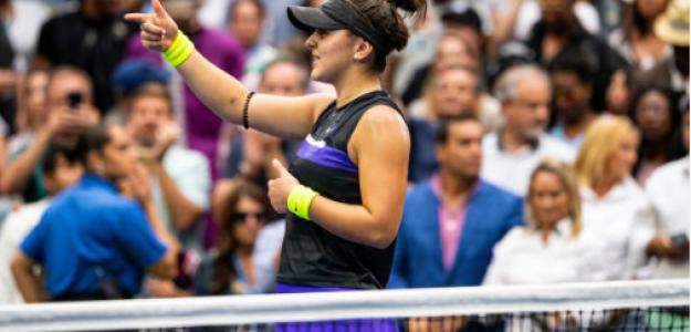 Bianca Andreescu se mete entre las cinco mejores del ranking WTA. Foto: gettyimages