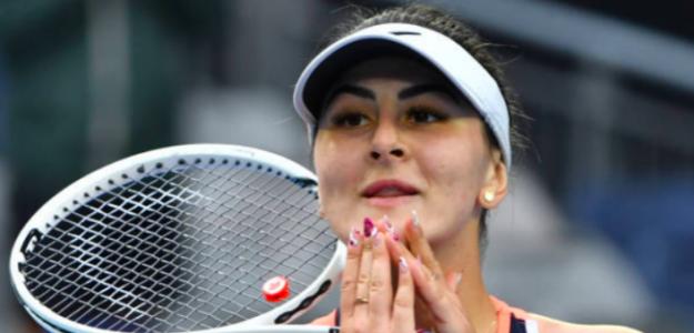 Bianca Andreescu, feliz tras su regreso. Fuente: Getty