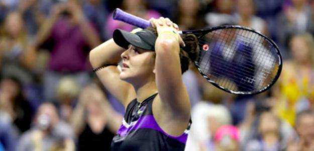 Bianca Andreescu, ni ella misma se lo cree. Fuente: Getty