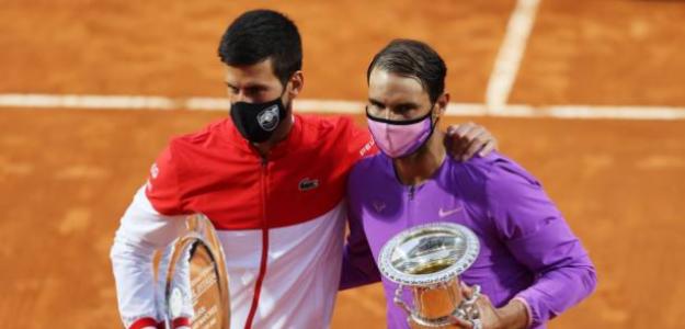 ¿Cuánto tardaremos en volver a ver una final entre Djokovic y Nadal en un Masters 1000? Fuente: Getty