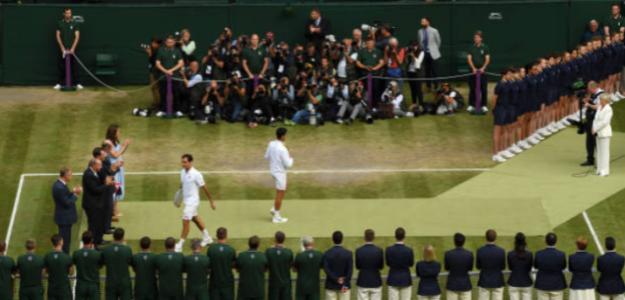 El mejor jugador de la historia es Federer y Nadal y Djokovic. Foto: Getty