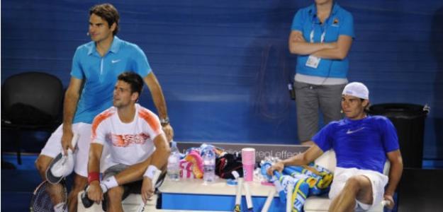 Los mejores inicios de temporada de Federer, Nadal y Djokovic. Foto: Getty