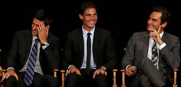 Cuando Federer, Nadal y Djokovic pierden partidos ganados. Foto: Getty