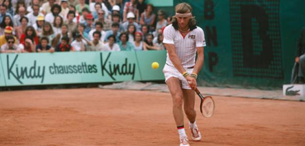 Björn Borg, Grand Slam más fácil de la historia. Foto: gettyimages