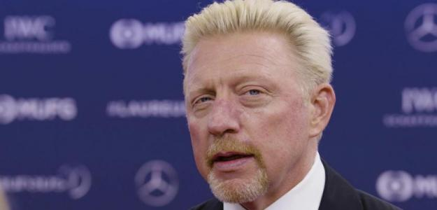 Boris Becker asistiendo a la gala de los premios Laureus.