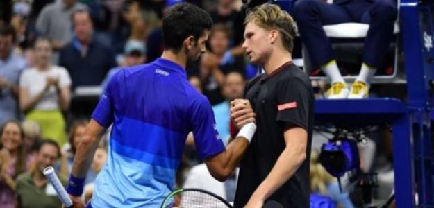 """Brooskby: """"Tenía la confianza de que podía ganar a Djokovic"""". Foto: Getty"""