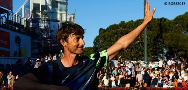 Ferrero se despide de su público. Foto: Barcelona Open Banc Sabadell
