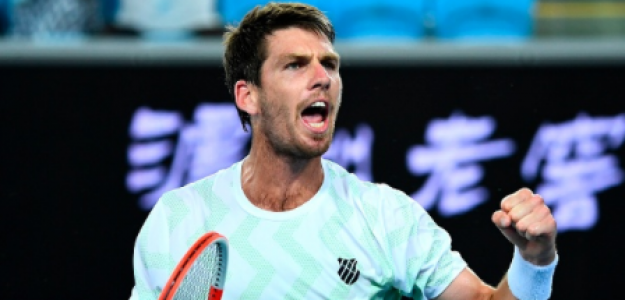 Cameron Norrie, rival Rafael Nadal en Open Australia 2021. Foto: gettyimages
