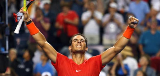 Rafa Nadal, campeón en Toronto. Fuente: Getty