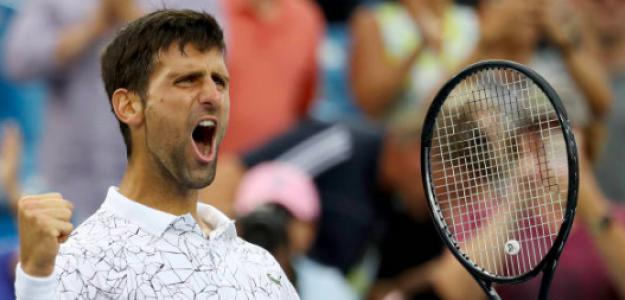 Novak Djokovic, campeón en Cincinnati. Fuente: Getty