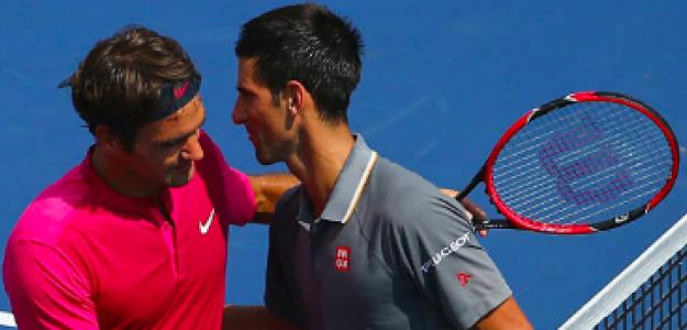 Capítulo 46 entre Roger Federer y Novak Djokovic. Fuente: Getty