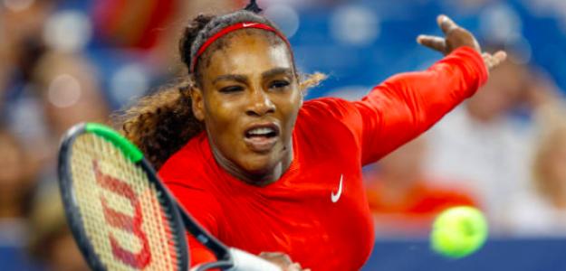 Serena Williams disputando su último torneo. Fuente: Getty
