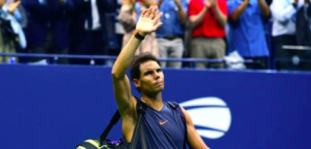 Rafa dijo adiós al US Open. Fuente: Getty