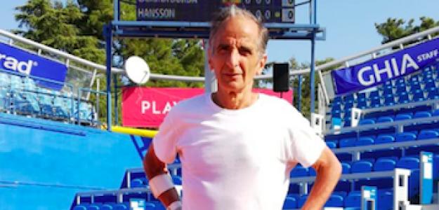 Jorge Camiña durante el último Mundial de veteranos. Fuente: RFET