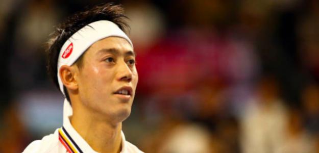 Kei Nishkori, el líder de tenis japonés. Fuente: Getty
