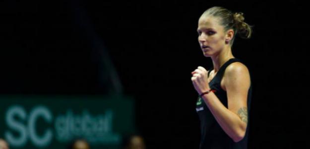 Rendimiento espectacular de Pliskova en su primer partido. Fuente: Getty