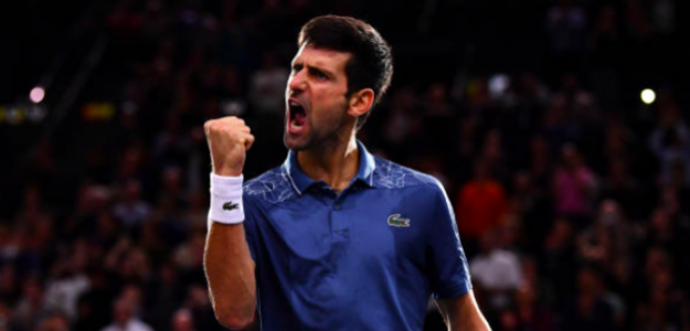 Cuarta victoria consecutiva de Djokovic sobre Federer. Fuente: Getty