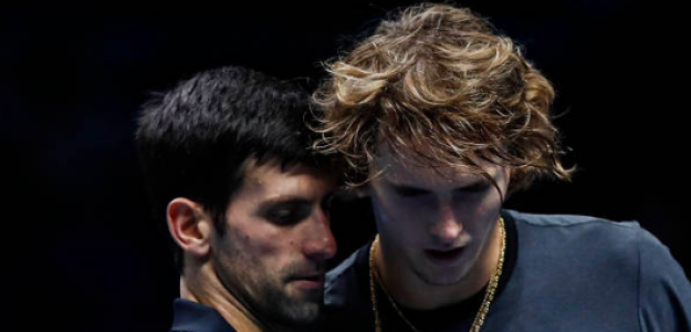 Djokovic y Zverev ya se vieron en la fase de grupos. Fuente: Getty