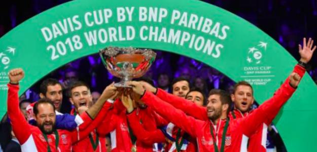 Croacia, campeona de la Copa Davis 2018. Fuente: Getty