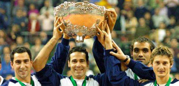 La primera Copa Davis del tenis español. Fuente: Getty