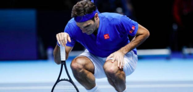 Roger Federer, el más veterano del top100. Fuente: Getty