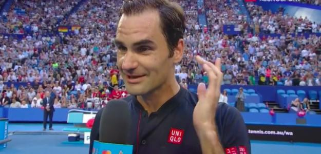 Roger Federer sigue ganando partidos en Perth. Fuente: Eurosport
