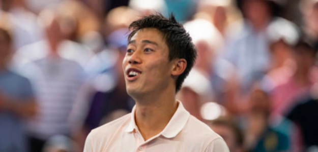 Kei Nishikori, campeón en Brisbane. Fuente: Getty