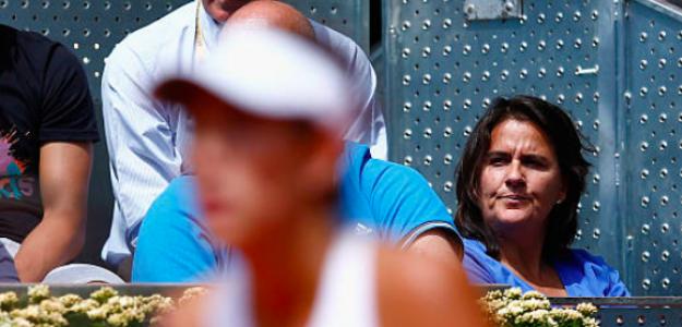 Conchita Martínez disfruta de su rol como entrenadora. Fuente: Getty