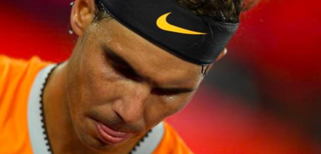 Rafa Nadal no tuvo su mejor día en la final del Open de Australia. Fuente: Getty