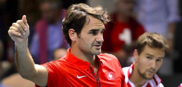 Roger Federer, una de los que no estarán en noviembre en Madrid. Fuente: Getty
