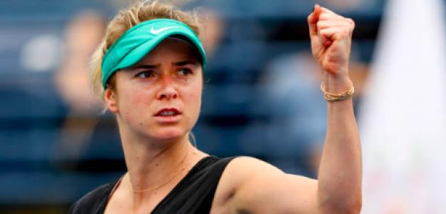 Elina Svitolina ya está en semifinales de Dubai. Fuente: Getty