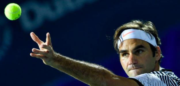 Roger Federer buscará en Dubái su título cien. Fuente: Getty