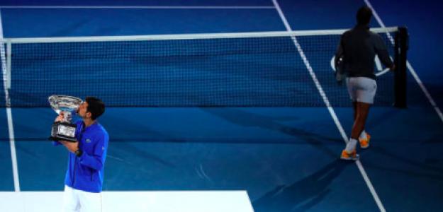Novak Djokovic, campeón en Australia ante Rafa Nadal. Fuente: Getty