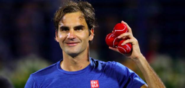 Roger Federer vuelve a la final de Dubai. Fuente: Getty