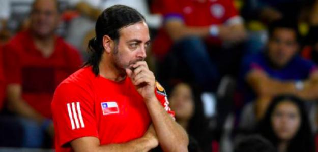 Nico Massú, a los mandos de Chile en Copa Davis. Fuente: Getty